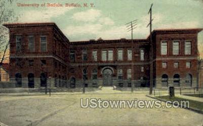University of Buffalo - New York NY Postcard