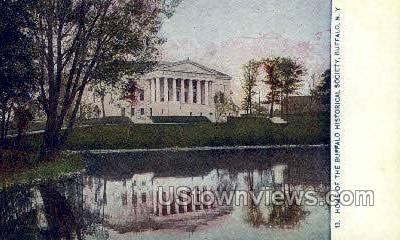Historical Society - Buffalo, New York NY Postcard