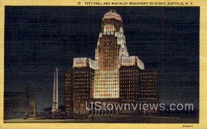 City Hall - Buffalo, New York NY Postcard