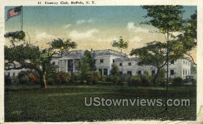 Country Club - Buffalo, New York NY Postcard
