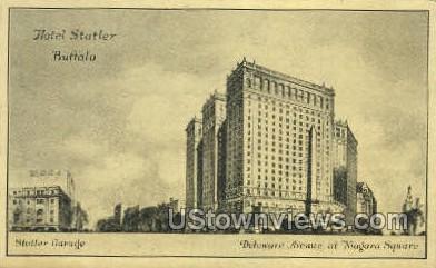 Hotel Statler - Buffalo, New York NY Postcard