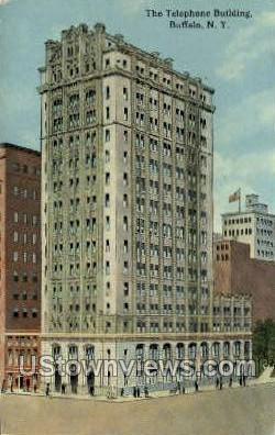 Telephone Bldg - Buffalo, New York NY Postcard