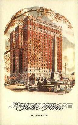 Statler Hilton - Buffalo, New York NY Postcard