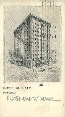 Hotel Buffalo - New York NY Postcard