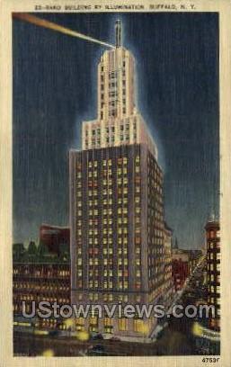 Rand Bldg - Buffalo, New York NY Postcard
