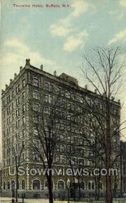 Touraine Hotel - Buffalo, New York NY Postcard