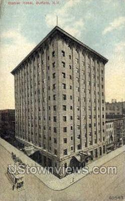 Statler Hotel - Buffalo, New York NY Postcard