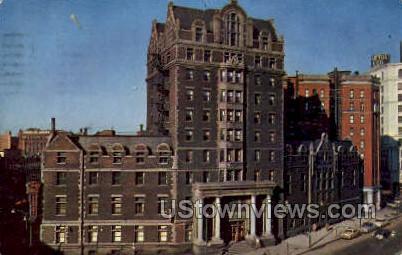 YMCA Bldg - Buffalo, New York NY Postcard