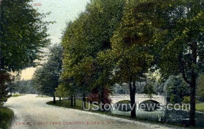Forest Lawn Cemetery - Buffalo, New York NY Postcard