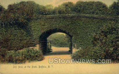 Ivy Arch - Buffalo, New York NY Postcard