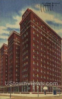 Hotel Richford - Buffalo, New York NY Postcard