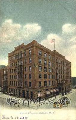 Hotel Broesel - Buffalo, New York NY Postcard