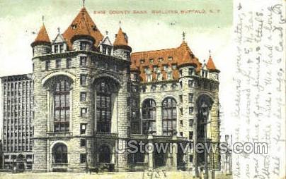 Erie County Bank - Buffalo, New York NY Postcard