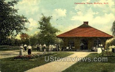 Casenovia Park - Buffalo, New York NY Postcard