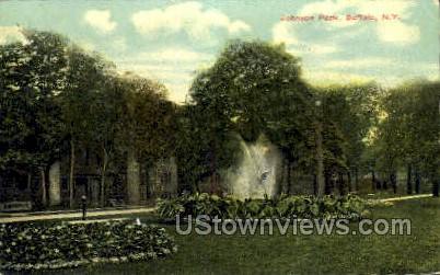 Johnson Park - Buffalo, New York NY Postcard