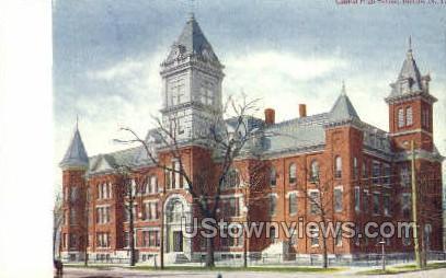Central High School - Buffalo, New York NY Postcard