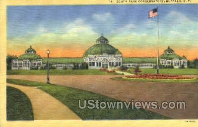 South Park Conservatory - Buffalo, New York NY Postcard