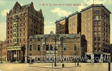 Men's Hotel - Buffalo, New York NY Postcard