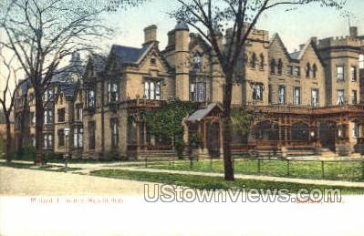 Millard Fillmore Residence - Buffalo, New York NY Postcard