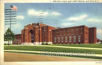 Artillery Armory - Buffalo, New York NY Postcard