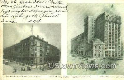 Matthews Bldg - Buffalo, New York NY Postcard