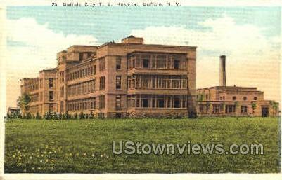 Hospital - Buffalo, New York NY Postcard
