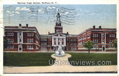 Normal High School - Buffalo, New York NY Postcard