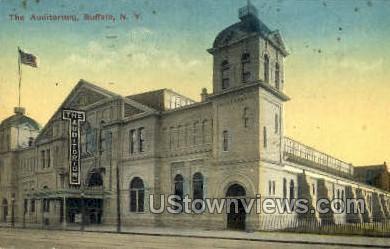 Auditorium - Buffalo, New York NY Postcard