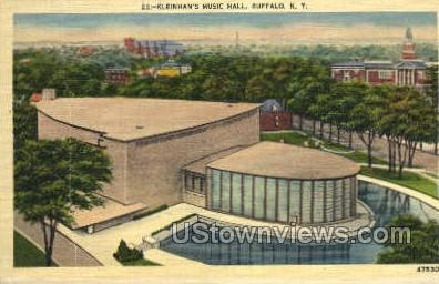 Klenihan's Music Hall - Buffalo, New York NY Postcard