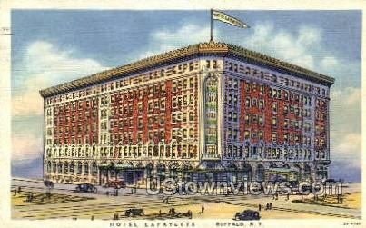 Hotel Lafayette - Buffalo, New York NY Postcard