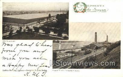 City Reservoir - Buffalo, New York NY Postcard