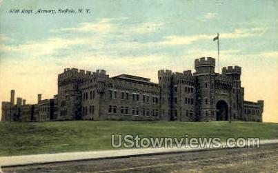 Armory - Buffalo, New York NY Postcard