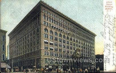 Elliott Square Bldg - Buffalo, New York NY Postcard