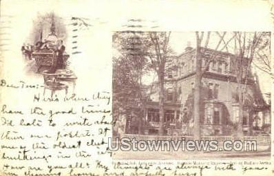 Buffalo Club - New York NY Postcard