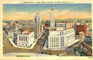 Federal Court House - Buffalo, New York NY Postcard