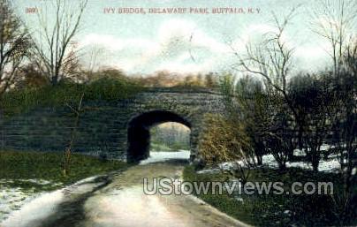 Ivy Bridge - Buffalo, New York NY Postcard