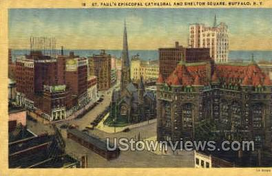 St Paul's Church - Buffalo, New York NY Postcard