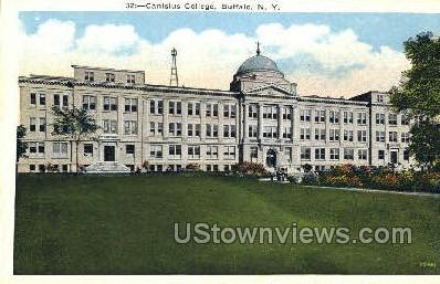 Canisius College - Buffalo, New York NY Postcard