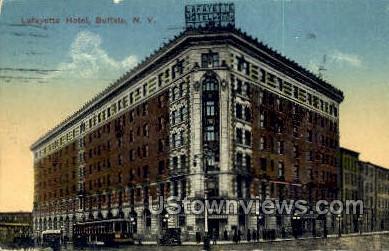 Lafayette Hotel - Buffalo, New York NY Postcard