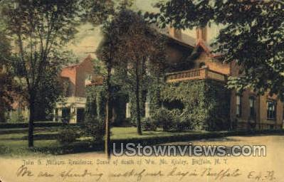 John G. Milburg Residence - Buffalo, New York NY Postcard