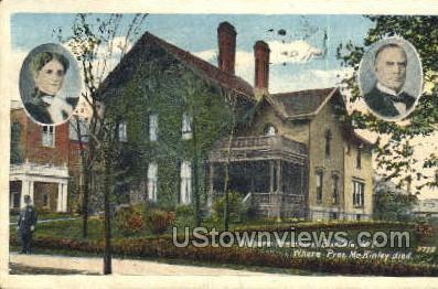 Milburn House - Buffalo, New York NY Postcard