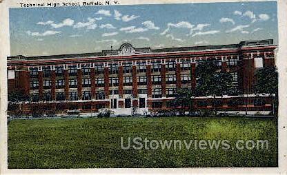 Technical High School - Buffalo, New York NY Postcard