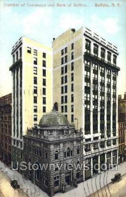Chamber of Commerce - Buffalo, New York NY Postcard