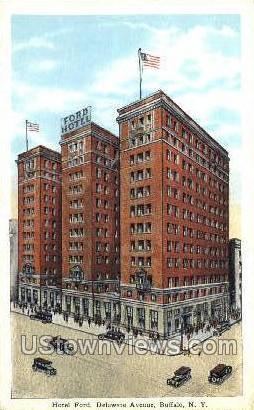 Hotel Ford - Buffalo, New York NY Postcard