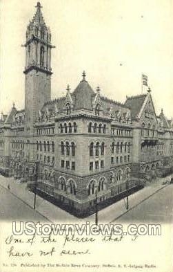 Federal Bldg - Buffalo, New York NY Postcard