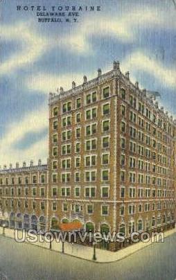 Hotel Touraine - Buffalo, New York NY Postcard