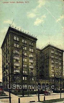 Lenox Hotel - Buffalo, New York NY Postcard