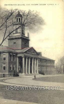 Teachers College - Buffalo, New York NY Postcard