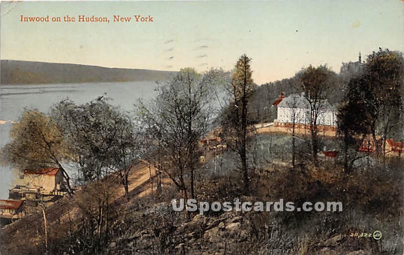 Inwood on the Hudson - Brooklyn, New York NY Postcard