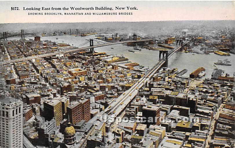 Woolworth Building - Brooklyn, New York NY Postcard